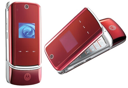 Verizon gets Pantech Smartphone and red KRZR