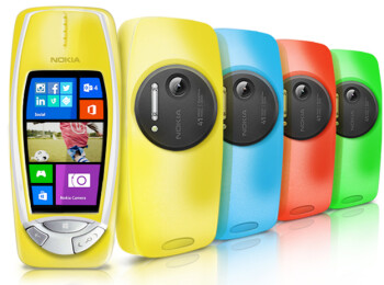 Innovation reinvented: Nokia 3310 PureView pops up with 41 MP camera and Windows Phone