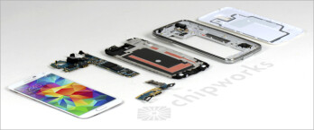 Samsung Galaxy S5 teardown reveals all its innards