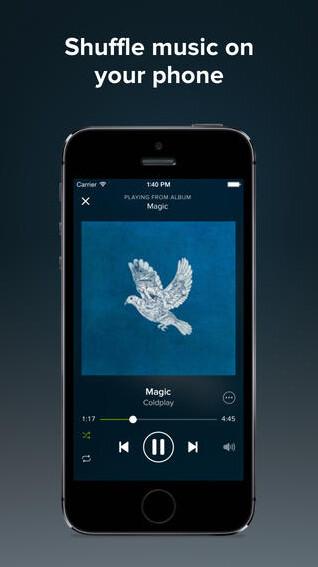 Spotify screenshots