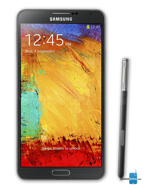 Samsng Galaxy Note 3, 74.78% screen-to-body ratio