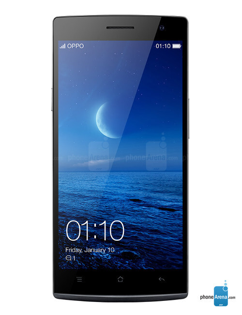 Oppo Find 7, 72.91% screen-to-body ratio