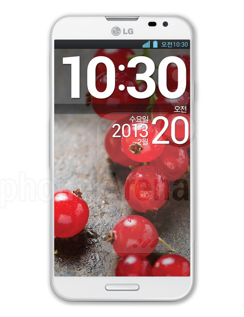 LG Optimus G Pro, 72.90% screen-to-body ratio
