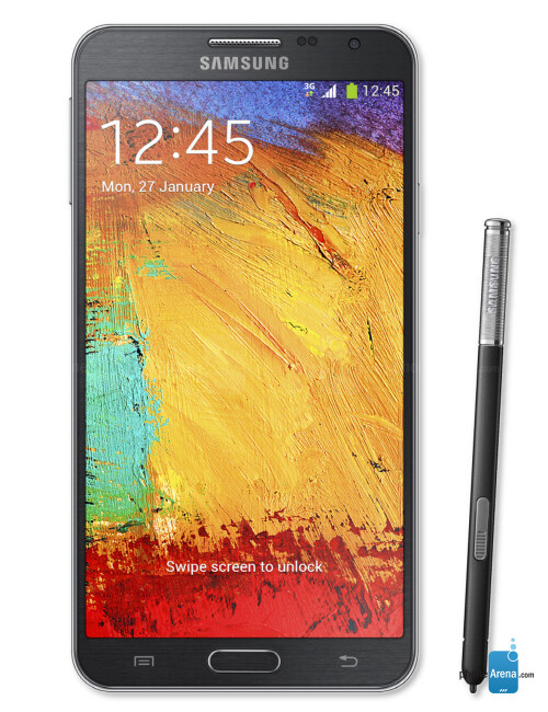 Samsung Galaxy Note 3 Neo, 72.57% screen-to-body ratio