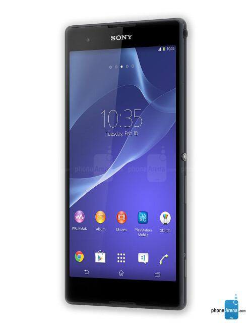 Sony Xperia T2 Ultra, 71.71% screen-to-body ratio