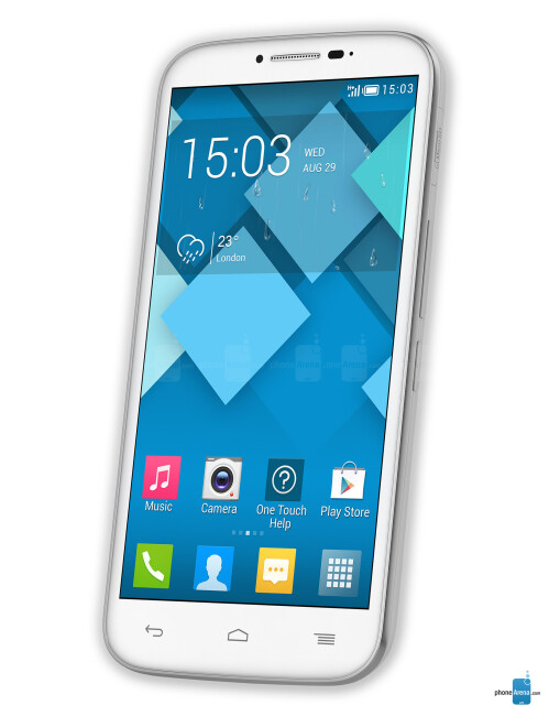 Alcatel OneTouch Pop C9, 71.35% screen-to-body ratio
