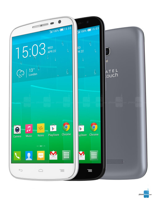 Alcatel OneTouch Pop S9, 72.07% screen-to-body ratio