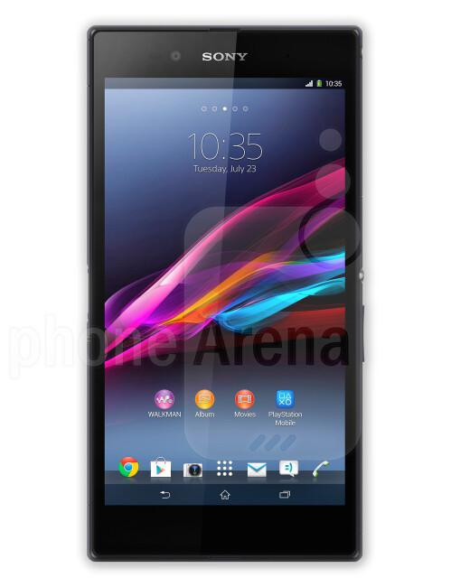 Sony Xperia Z Ultra, 69.15% screen-to-body ratio