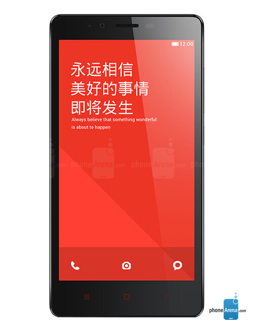 Xiaomi Redmi Note, 68.81% screen-to-body ratio