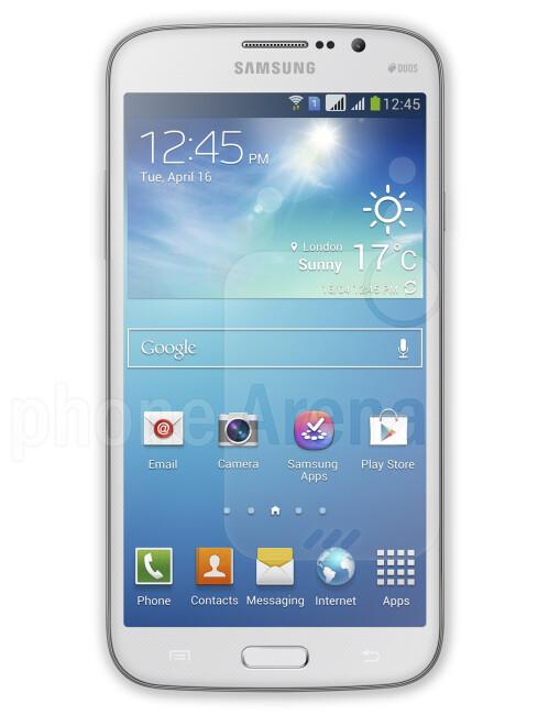 Samsung Galaxy Mega 5.8, 67.43% screen-to-body ratio