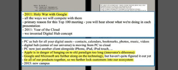 Samsung lawyers use these 2010 Steve Jobs emails as proof that the lawsuit is going after Android