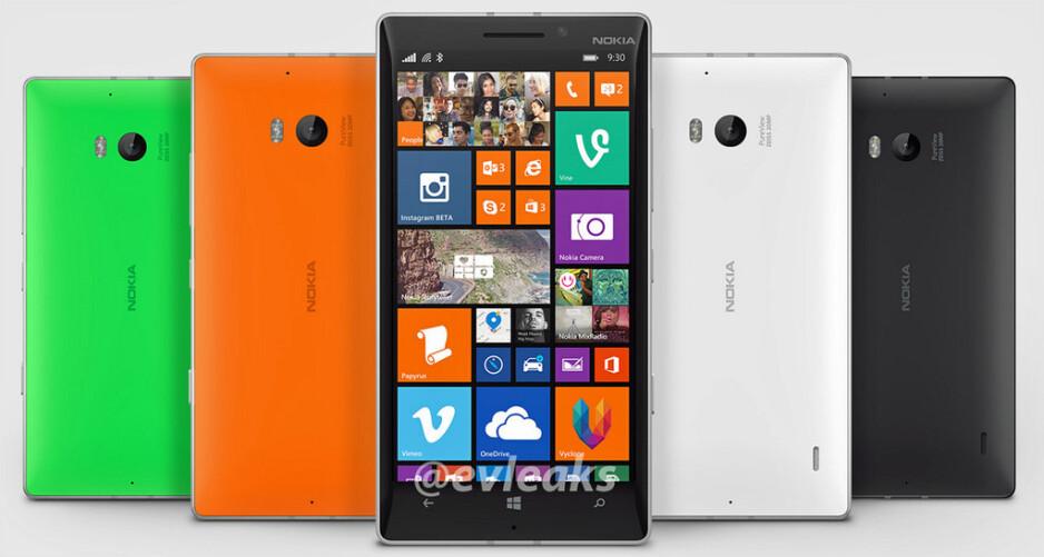 Nokia Lumia 930 leaks out: a Lumia Icon look-alike