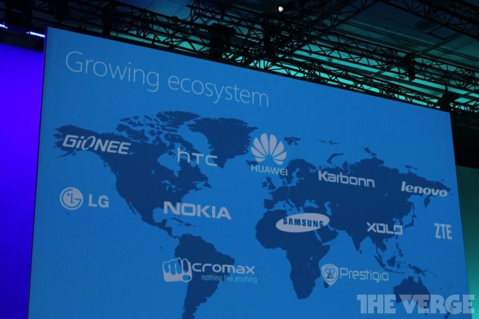 Image courtesy of TheVerge. - Microsoft announces 2 new partners for Windows Phone: Micromax and Prestigio