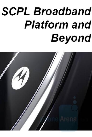 Expect the SCPL - Motorola Q gets GSM version and a successor – Motorola Q2. SCPL phones coming