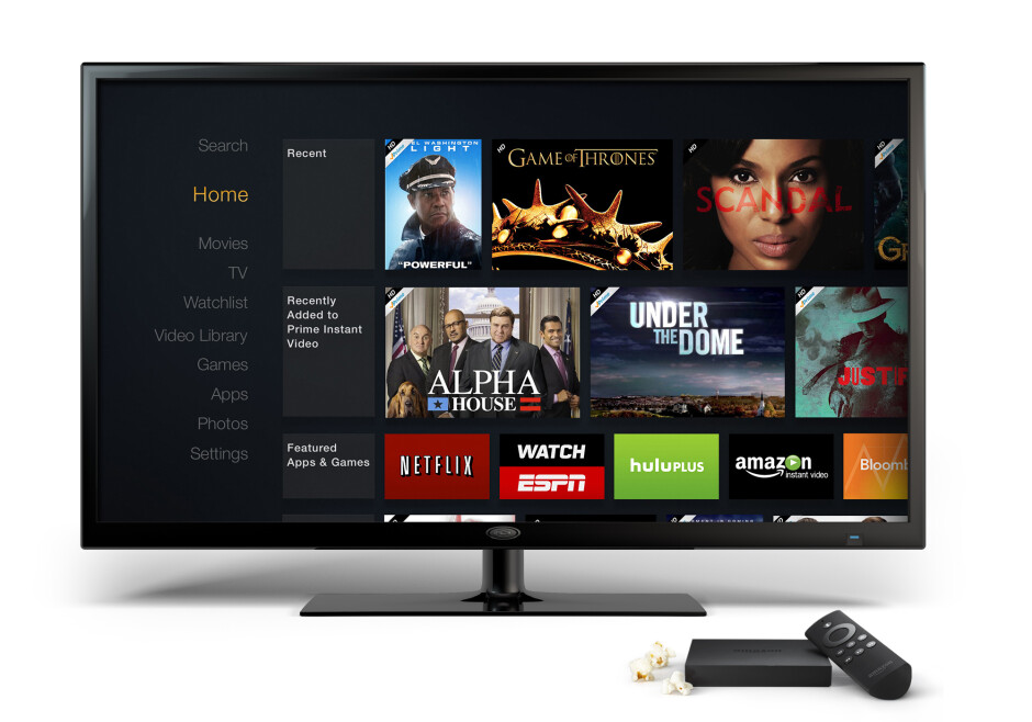 Amazon's FireTV $99 set-top box is looking to light up your living room