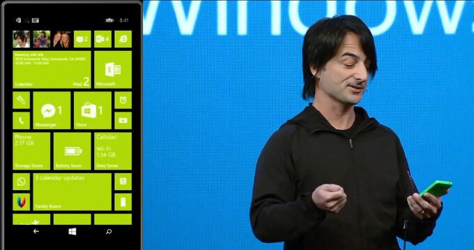 "Windows Phone 8.1 update release date: coming in ""a few months"""