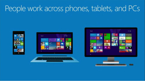 Microsoft pushes convergence with universal Windows app development