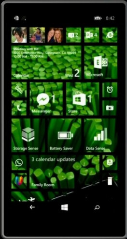 Homescreen backgrounds in WP 8.1