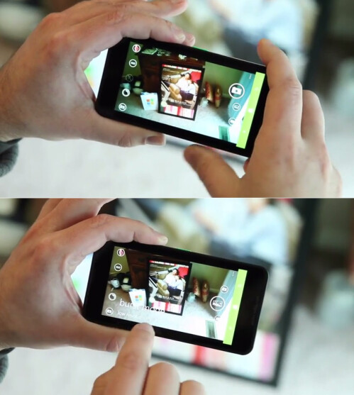 Camera: new layout, burst mode with auto-deletion of images