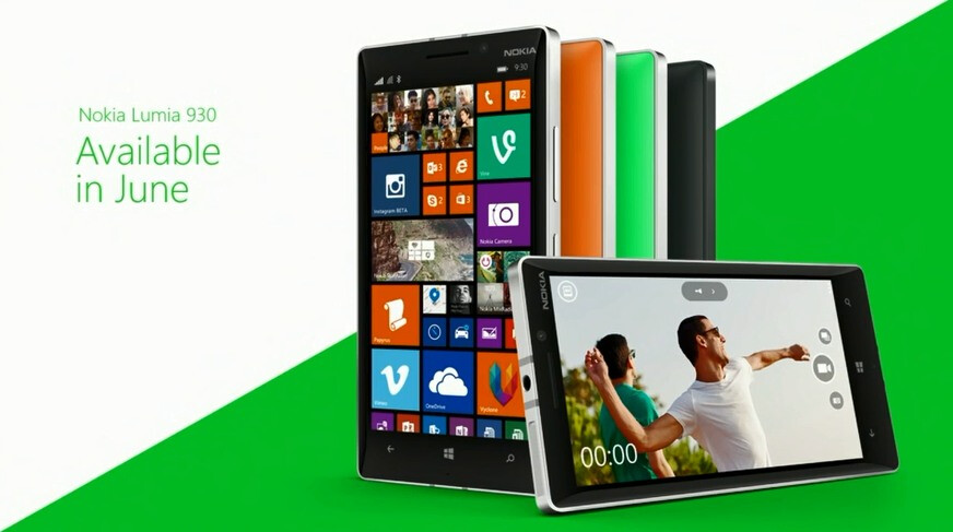 Nokia Lumia 930 in Its First Official Source Image