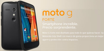 Motorola Moto G Forte gets official - it's not exaclty a new Moto G
