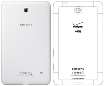 Verizon-branded Samsung Galaxy Tab 4 8.0 (SM-T337V) revealed by the FCC