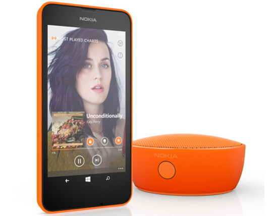 Nokia intros the MD-12 wireless speaker to complement its new Lumia smartphones