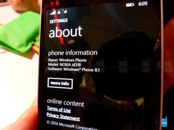 Nokia Lumia 930 hands-on