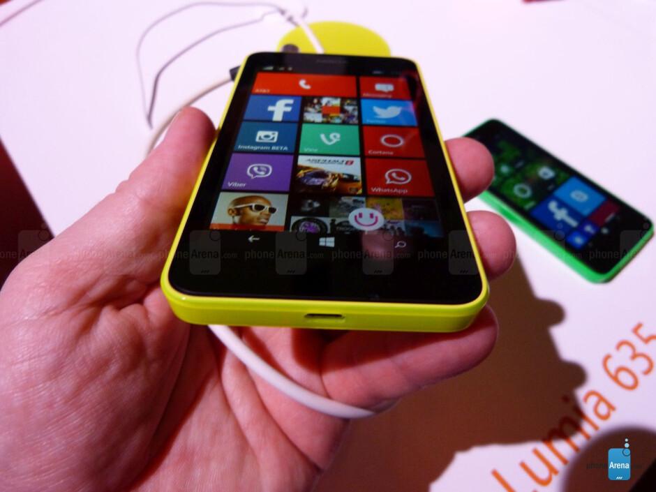 Nokia Lumia 635 hands-on