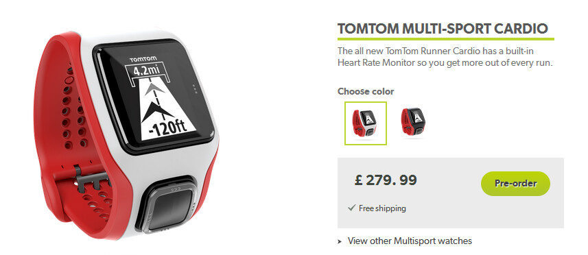 Two New Watches of TomTom