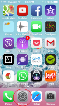 How to bring navigation buttons back to the iOS 7 interface