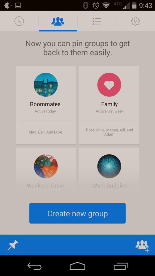 Facebook Messenger 4.0 comes to Android with groups and voice calling