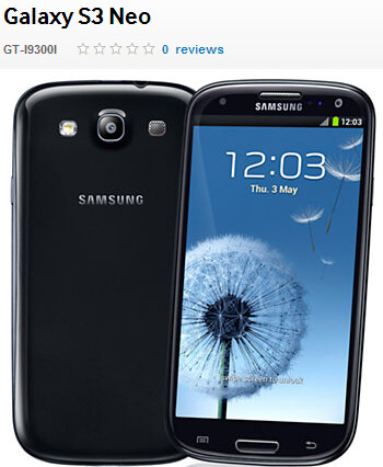 Samsung Galaxy S3 Neo to be launched in India soon