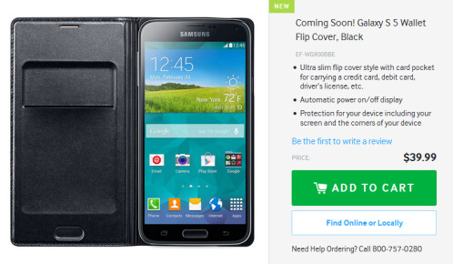 Accessories for the Samsung Galaxy S5