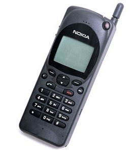 The device that started it all, the Nokia 2110