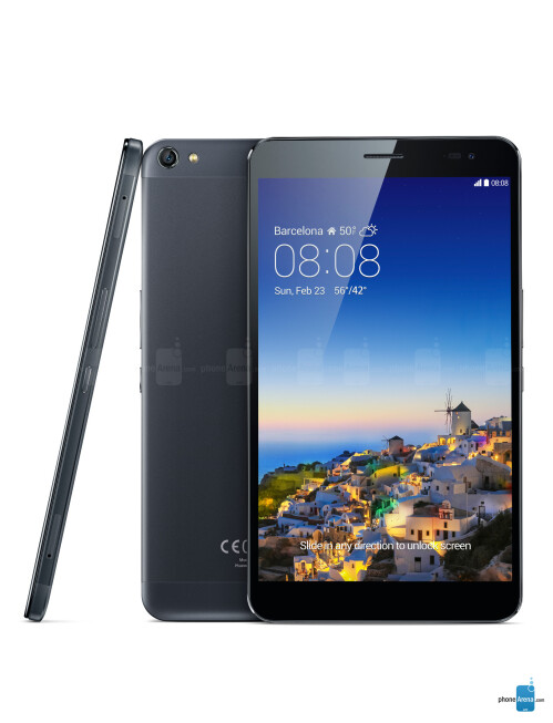 Huawei MediaPad X1, 70.90% screen-to-body ratio