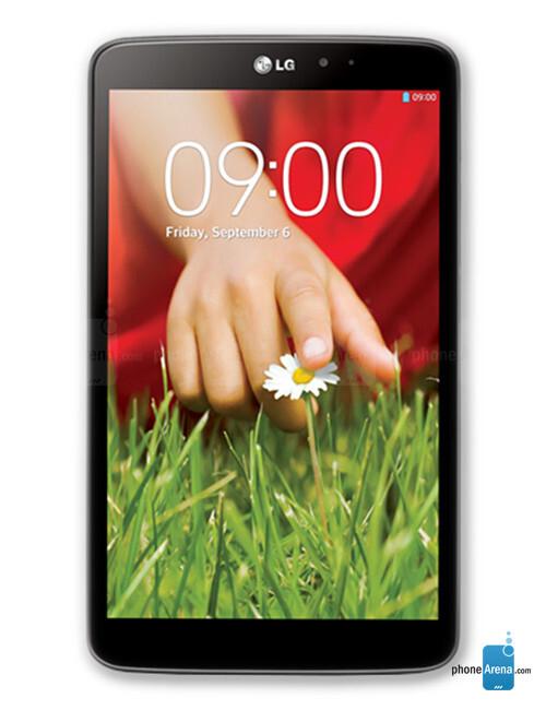 LG G Pad 8.3, 69.22% screen-to-body ratio