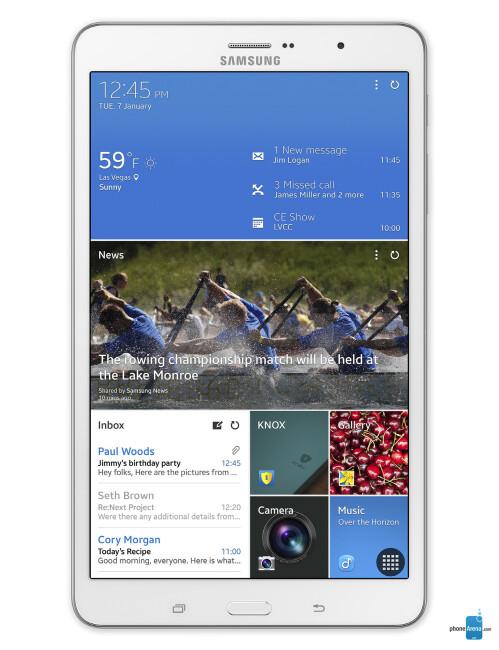 Samsung Galaxy TabPro 8.4, 69.12% screen-to-body ratio