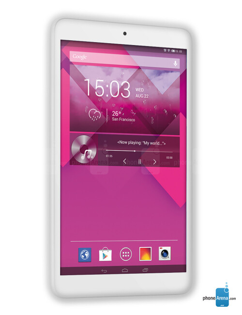 Alcatel OneTouch POP 8, 68.65% screen-to-body ratio
