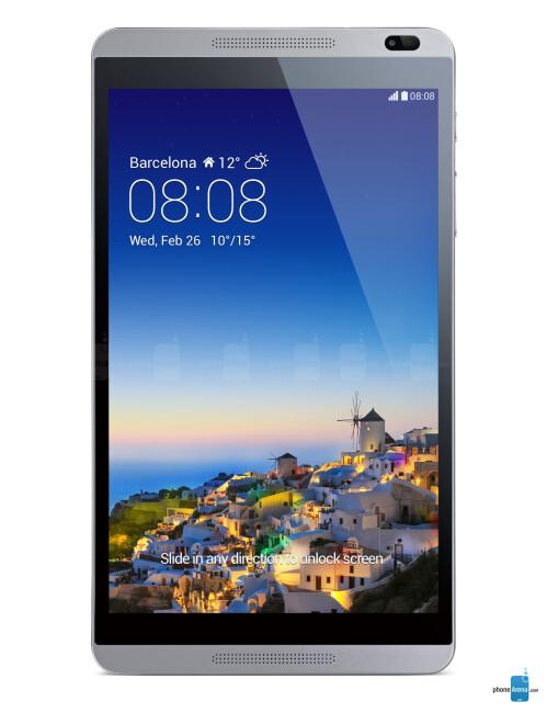 Huawei MediaPad M1, 68.21% screen-to-body ratio