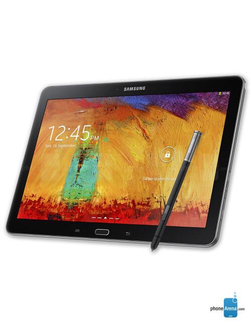 Samsung Galaxy Note 10.1 (2014 Edition), 67.48% screen-to-body ratio