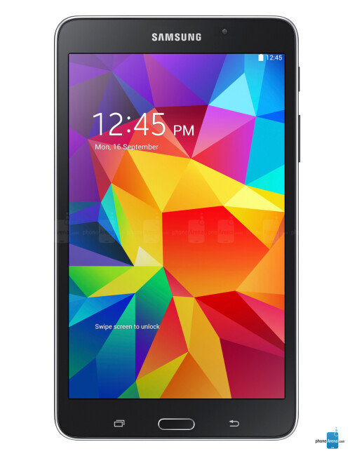 Samsung Galaxy Tab 4 7.0, 66.94% screen-to-body ratio