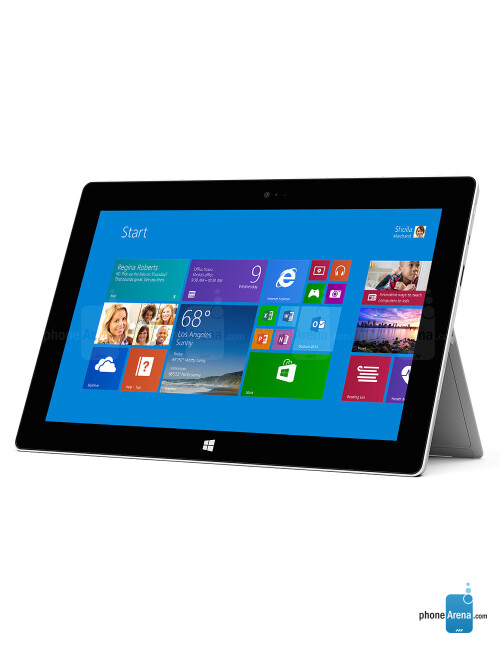 Microsoft Surface 2, 65.41% screen-to-body ratio