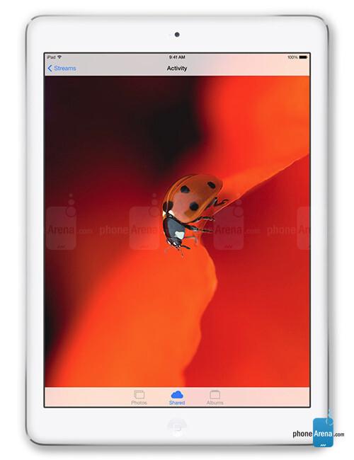 Apple iPad Air, 71.65% screen-to-body ratio