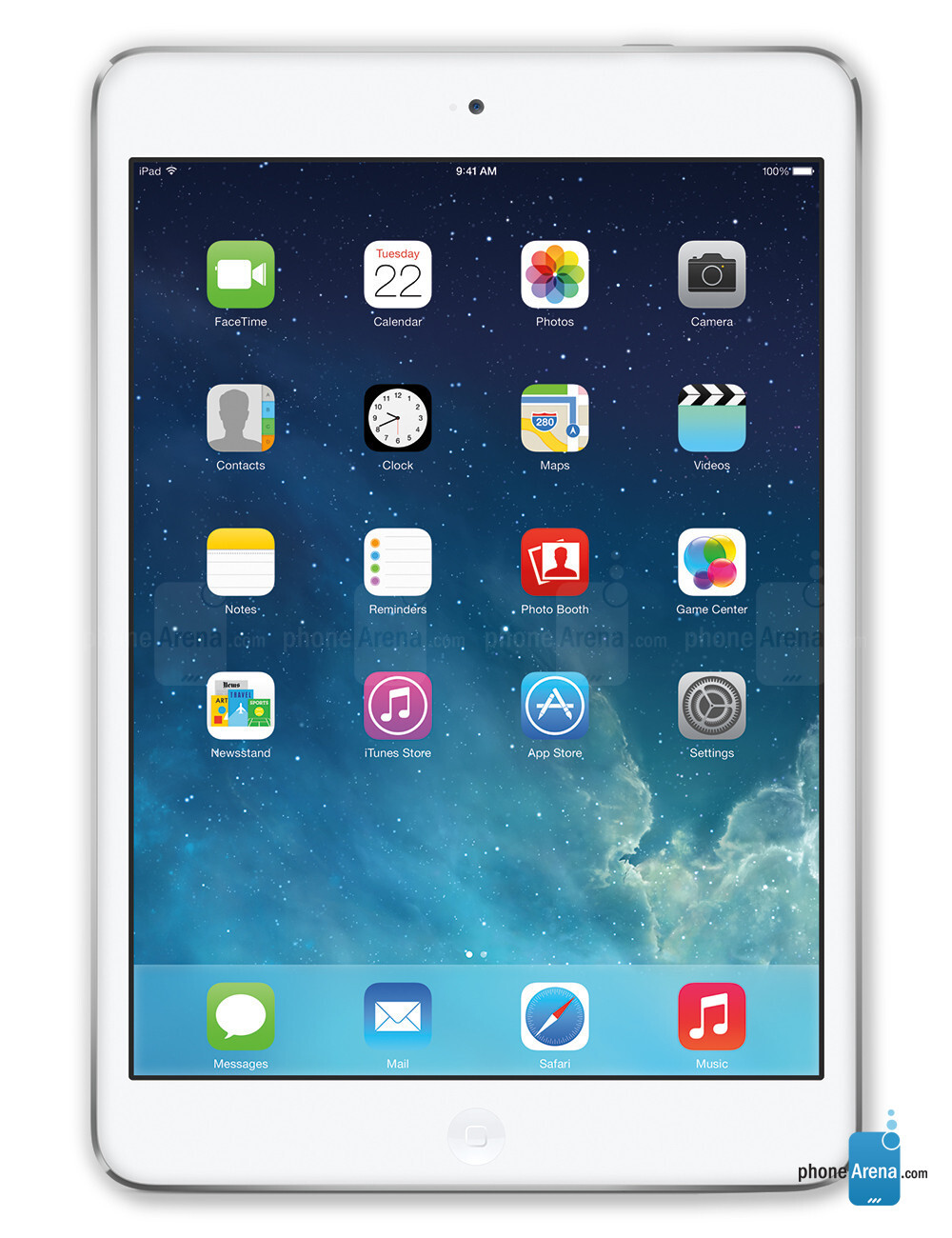 Apple iPad Mini 1 and 2, 71.82% screen-to-body ratio