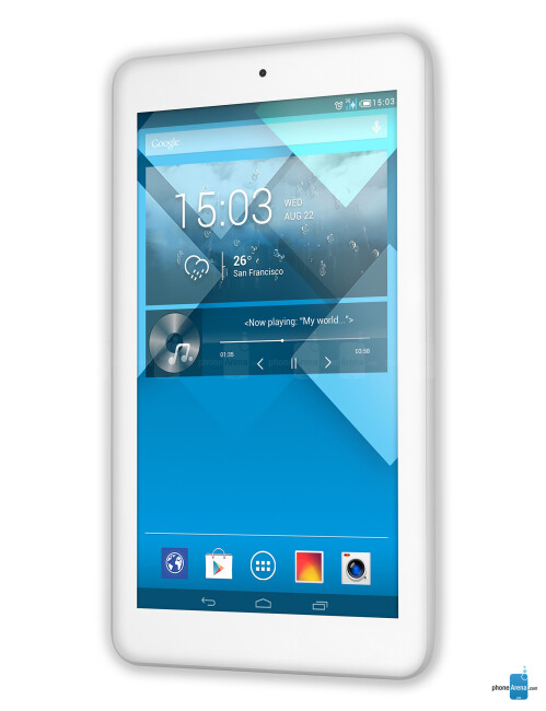 Alcatel OneTouch POP 7, 62.24% screen-to-body ratio