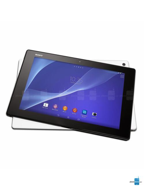 Sony Xperia Z2 Tablet/Xperia Z Tablet, 61.50% screen-to-body ratio