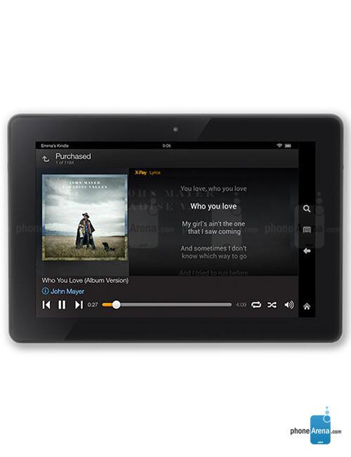 Amazon Fire HDX 8.9, 59.86% screen-to-body ratio