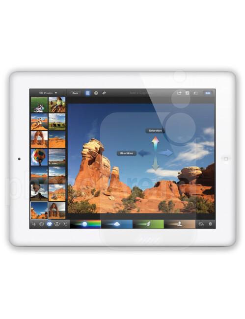 Apple iPad 4, 65.30% screen-to-body ratio