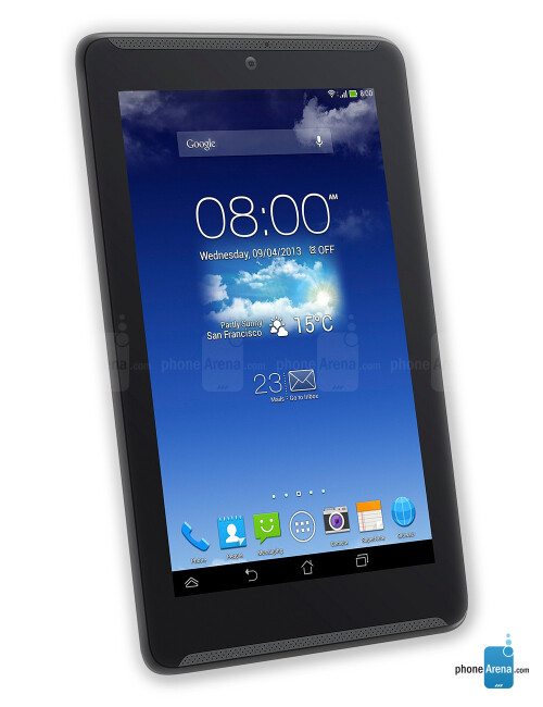 Asus FonePad 7, 57.24% screen-to-body ratio